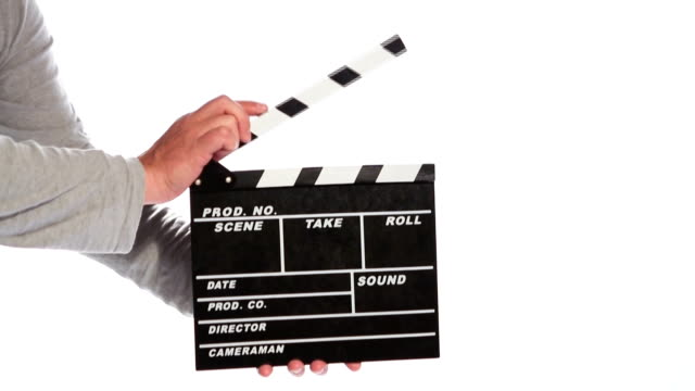 Clapper board video