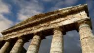 Classic Greek (Doric) Temple at Segesta in Sicily video