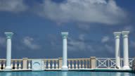 Classic swimming pool Barbados video