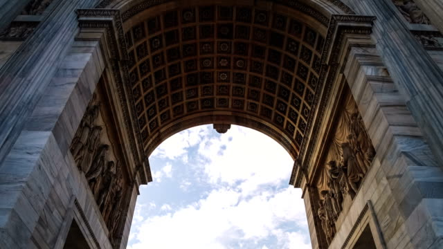 Classical Arch and Fast Clouds video