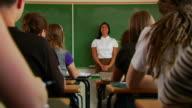 Classroom Hands Raised 3 video
