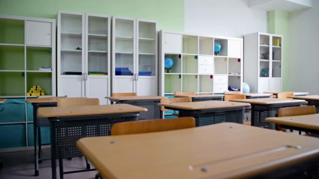 Classroom Interior video