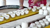 Clay cups video
