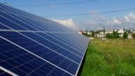 clean energy - solar panels video