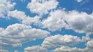 Clean HD Puffy Cloud Timelapse video