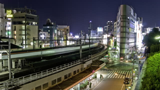 Clean HD time lapse - Tokyo Ueno station video