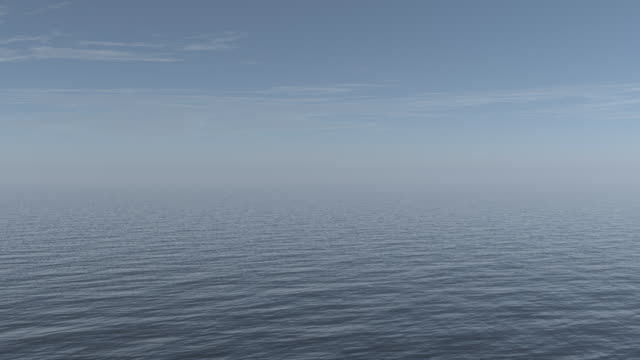 Clean ocean background video