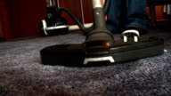 cleaning dirty carpet with vacuum cleaner video