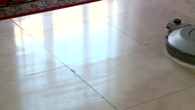 cleaning of marble floor video