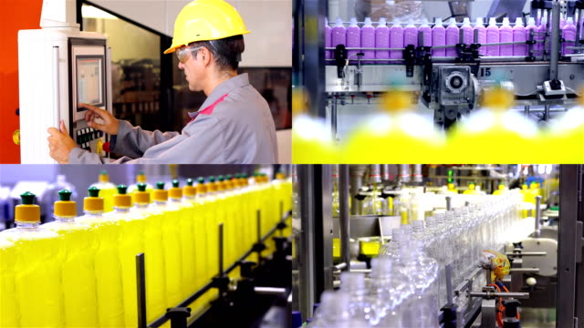 Cleaning Products Manufacturing Industry video