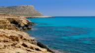 Clear Blue Sea Coastline - Full HD video
