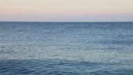 HD: Clear open sea waving video