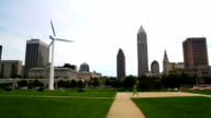 Cleveland, Ohio Skyline video