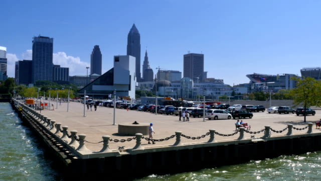 Cleveland Skyline video