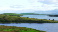 Clew Bay In County Mayo Viewed From The North video