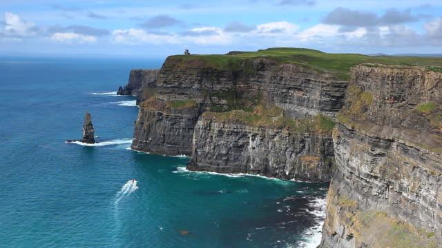 Cliffs of Moher in Ireland video