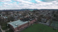 Cliffside Park NJ Flyover School Moving Downtown video