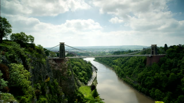 clifton suspension bridge in bristol video