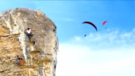 Climbers and Parachutes video