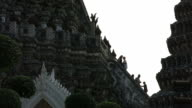 Climbing steep steps in Wat Arun – Temple of Dawn video