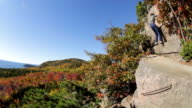 Climbing The Beehive in Autumn, Acadia National Park, Maine video