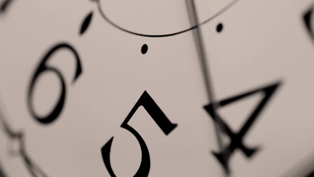 Clock Face Ticking video
