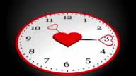clock heart video