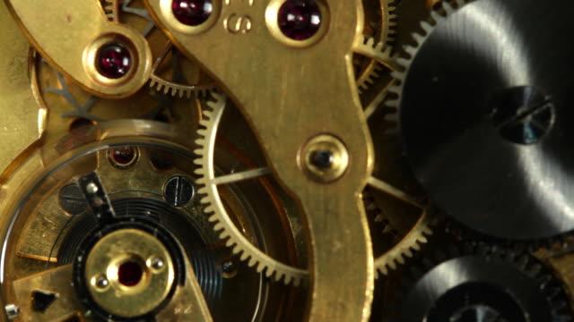 clock mechanism video