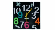 Clock Square (Time Lapse) video