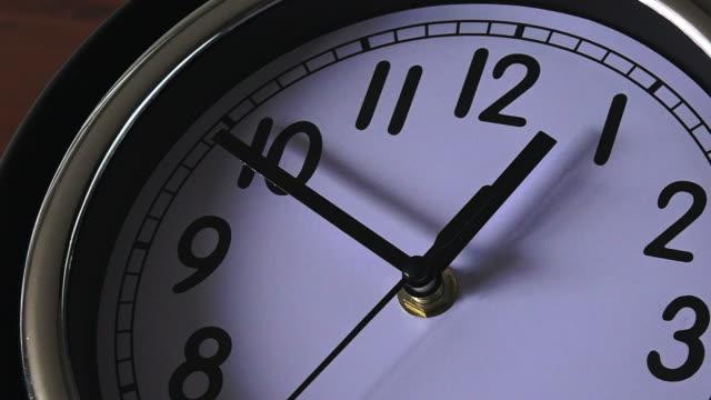Clock ticking backwards video
