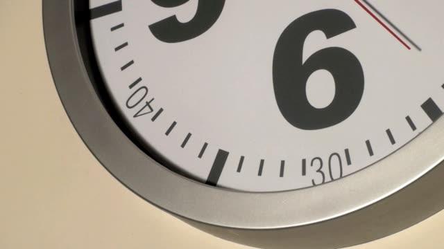 clock ticking video