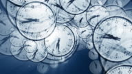 3D Clock Time Vortex video