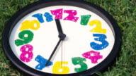 clock timelapse video