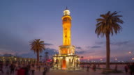 Clock Tower, Konak Square, Izmir, Turkey video