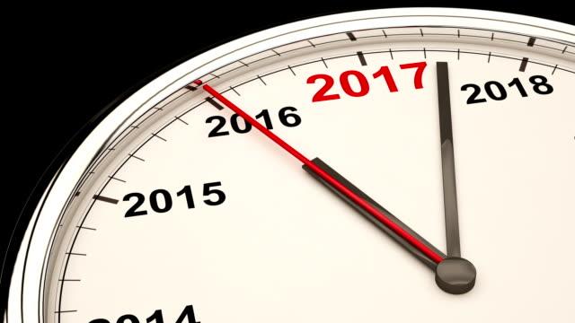 2017 Clock video