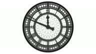 Clockface of Big Ben video