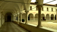 cloister of the monastery video