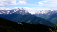 Close Up Aspen Wilderness National Forest Land Time-Lapse of Epic Elk Mountain Valley on Top Aspen Ski Resort video