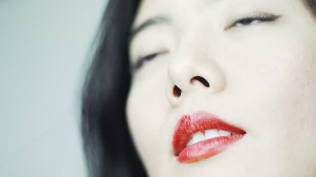 Close up beauty video