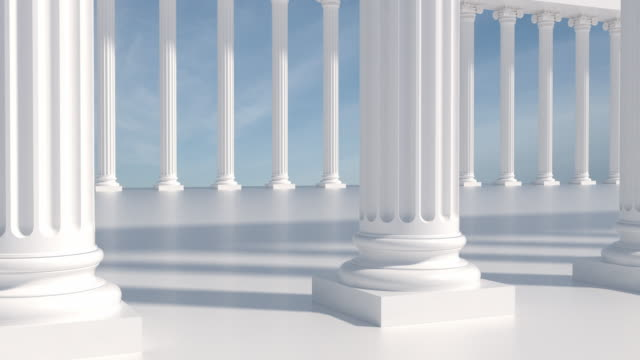 Close Up Columns | Loopable video