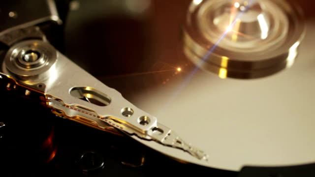 Close Up Computer Hard Drive video
