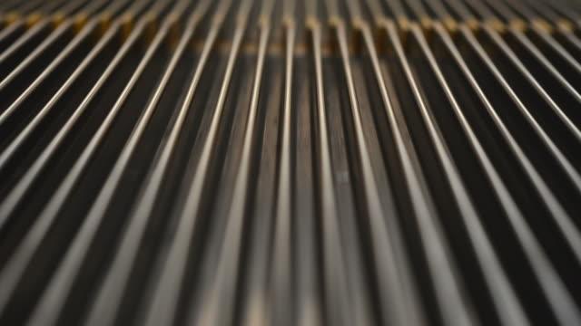 Close up escalator video