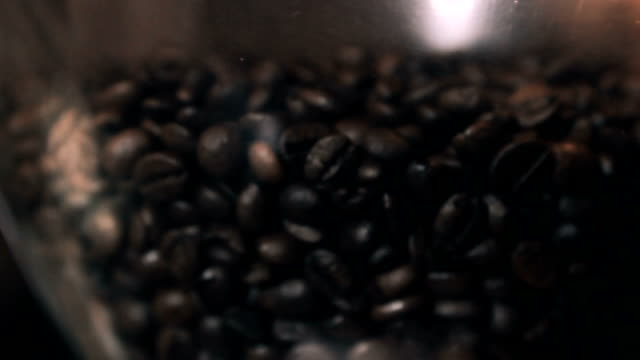 close up shot of roasted coffee video