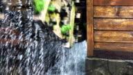 CU Close up Water wheel / Watermill video