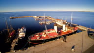 Closer look of the seaplane harbor in Kopli video
