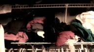Closet of Clothes video