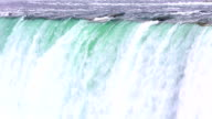 HD: closeup of Horseshoe Niagara Falls, Ontario, Canada video