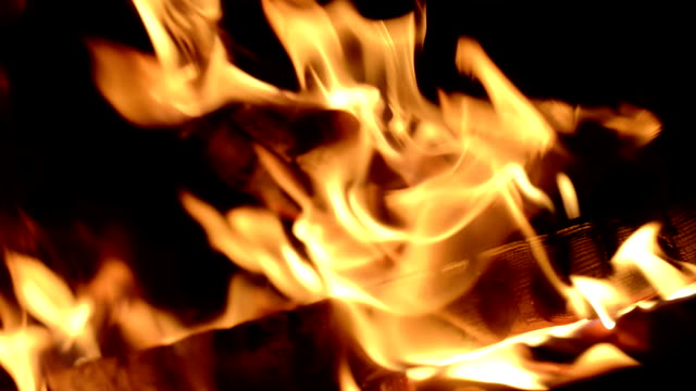 Close-up on Flames video