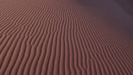 4K close-up panning shot of ripples in the sand dunes inside the Namib-Naukluft National Park video