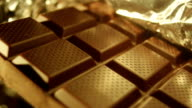 Close-up Shot of Chocolate Bar video
